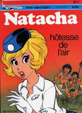 #01- Natacha hôtesse de l'air